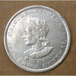 EL SALVADOR 1 PESO 1895