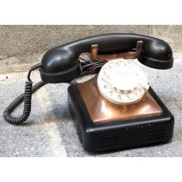 ANTIGUO TELÉFONO HOLANDÉS COBRE AÑOS 50