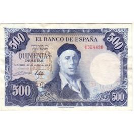 SIN SERIE 500 PESETAS 1954 IGNACIO ZULOAGA