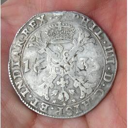 PATAGÓN FELIPE IV 1633 PAÍSES BAJOS -Tournai-