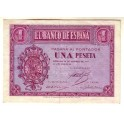1 PESETA 1937 BURGOS